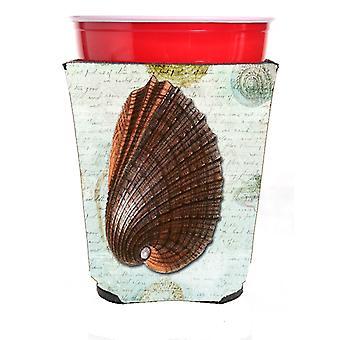 Carolines Treasures  SB3032RSC Shells  Red Solo Cup Beverage Insulator Hugger
