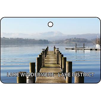 Lago Windermere - Lake District Car Air Freshener