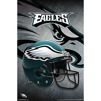 Philadelphia Eagles - capacete 15 Poster Poster Print