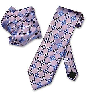 Cou cravate ensemble Antonio Ricci NeckTie mouchoir modèle masculin