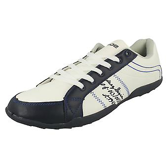 Mens Inside Casual Lace Up Trainers '5126'