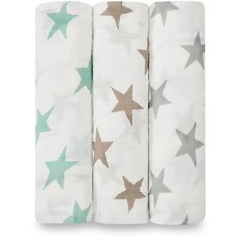 aden + anais Silky Soft Swaddles 3 Pack