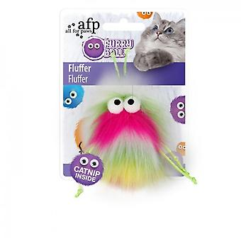 AFP Fluffer Rosa Furry Ball (Cats , Toys , Teaser Wands)