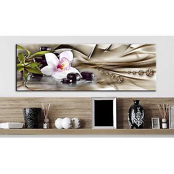 Painting - Zen composition: beige135x45