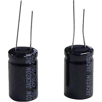 Subminiature electrolytic capacitor Radial lead 7.5 mm 4700 µF 16 V 20 % (Ø x H) 16.5 mm x 32 mm 1 pc(s)