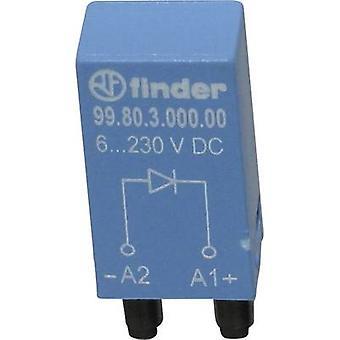 מאתר Plug-in מודול + flyback דיודה, w/o LED 99.80.3.000.00 תואם (סוג): Finder 94.54.1, Finder 94.84.3, Finder 95.85.3, Finder 95.95.3 1 pc (עם)