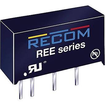 RECOM REE-0505S Convertidor CC/CC (impresión) 5 V DC 5 V DC 200 mA 1 W No. de salidas: 1 x