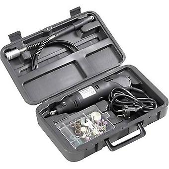 Basetech 814677 Mini drill set 80 pcs. Multifunction tool incl. accessories, incl. case 130 W