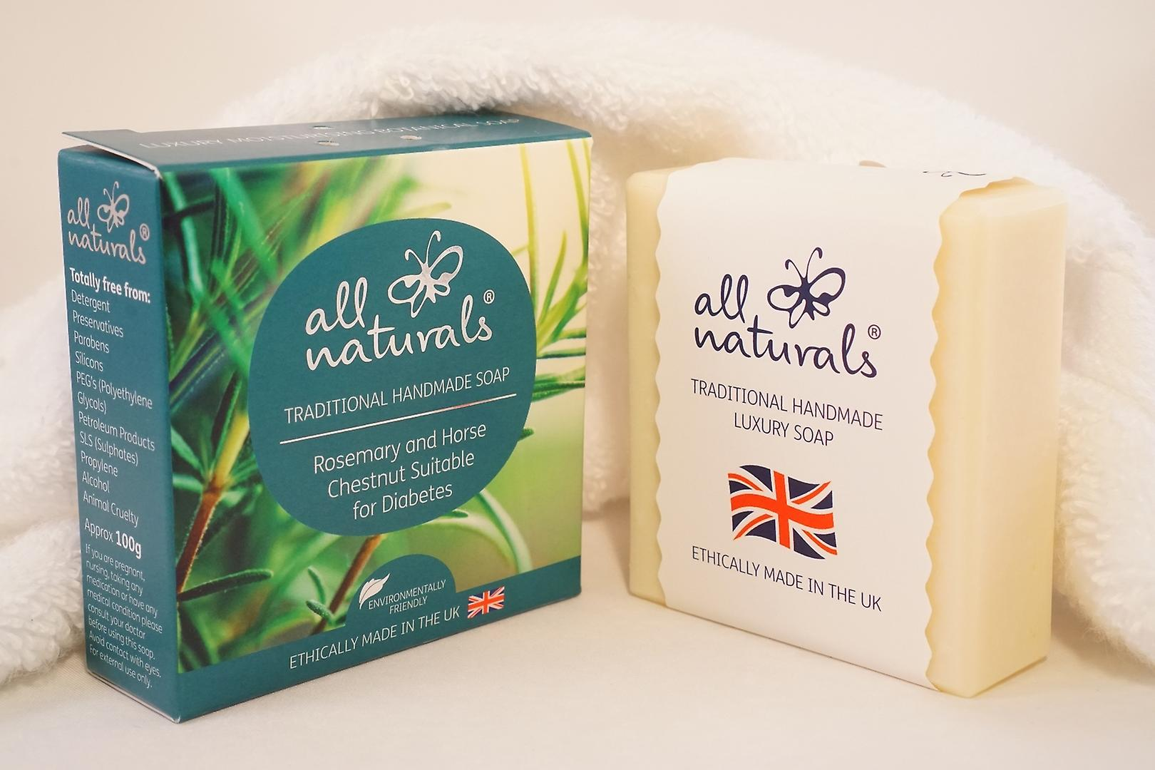 Sensitive Skin Organic Soap Gift Box with All Natural Soaps 400g.