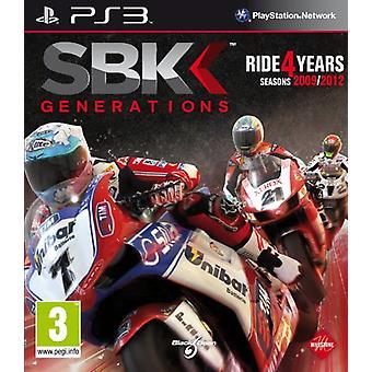 Generacje SBK (PS3) - Nowy