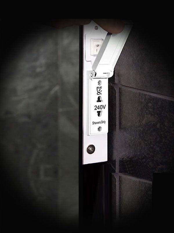 Audio k1111haud baie Double miroir de rasoir de bord salle de bain