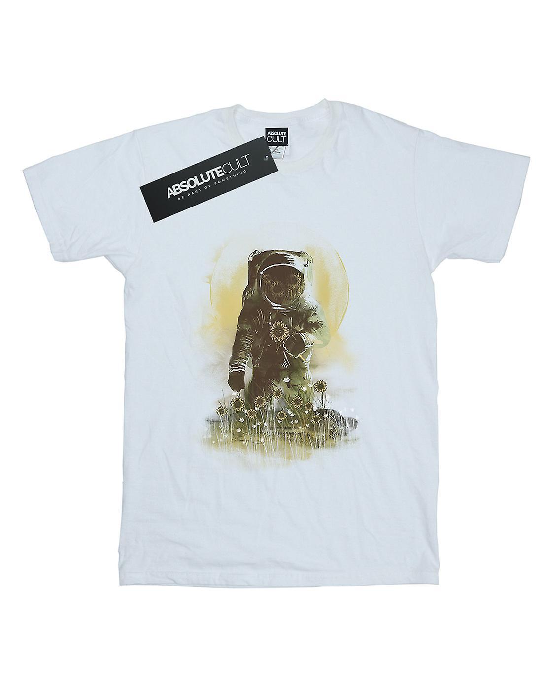 Dan Dingeroz Women's Mars Watercolour Boyfriend Fit T-Shirt