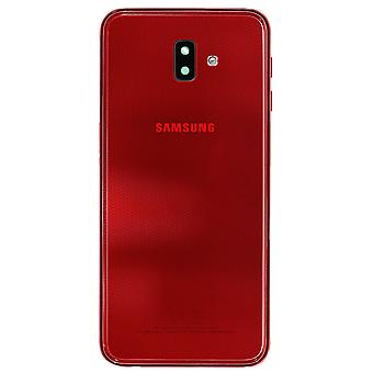 Genuine Samsung Galaxy J6+ Red Battery Cover | iParts4u