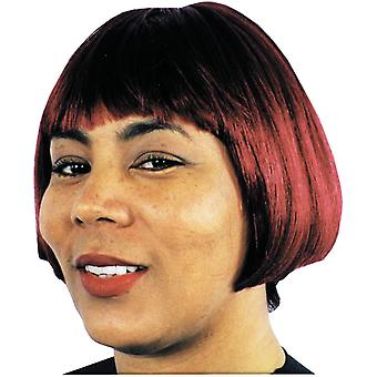 بورغونيا حواء شعر مستعار للنساء