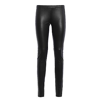 Michael Kors Mh53353fr8001 Damen's Schwarz Nylon Leggings