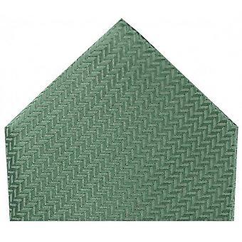 Дэвид ван Хаген елочка Шелковый платок - утка яйцо зеленый