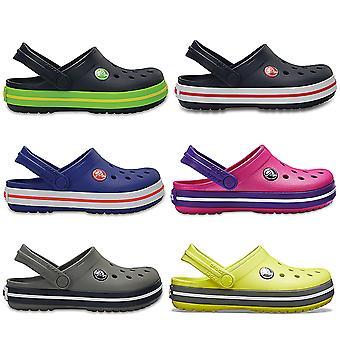 Unisex Kids Crocs Crocband Clog Summer Holiday Lightweight Beach Sandal