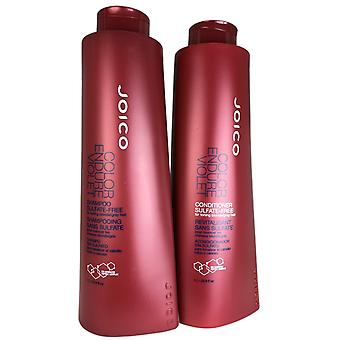 Joico color endure violet shampoo & conditioner for toning blonde/gray hair 33.8oz