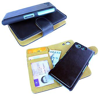 Sony Xperia Z3 Compact case with removable shell black