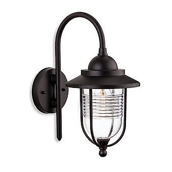Firstlight-1 lys udendørs Væglygte sort IP44-4909BK