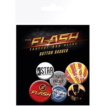 Flash Mix Badge Pack
