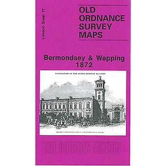 Bermondsey and Wapping 1872 - London Sheet 077.1 (Facsimile of 1872 ed