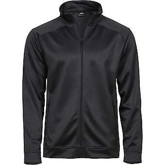 Tee Jays Mens Performance Zip Sweat Jacket