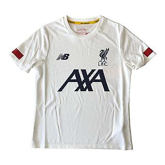 2019-2020 Liverpool Pre-Game Jersey (White) - Kids