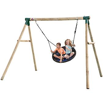Plomme Spider Monkey II tre hage Swing Set