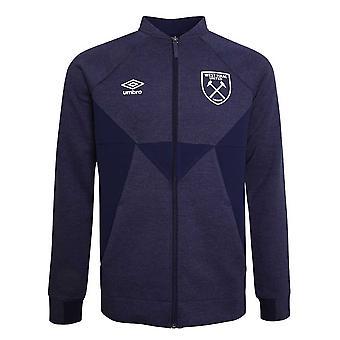 2019-2020 West Ham Presentation Jacket (Evening Blue)