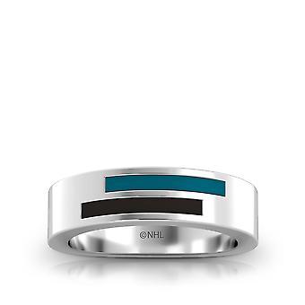San Jose Sharks Ring In Sterling Silber Design von BIXLER