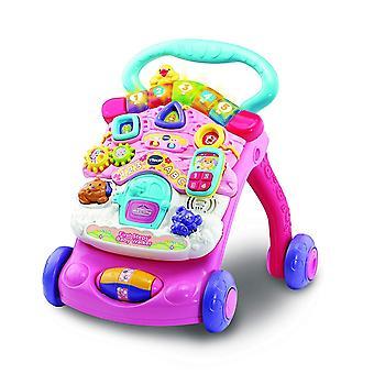 VTech Pink primeiros passos Baby Walker