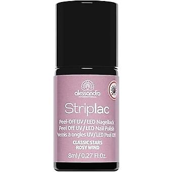 StripLAC Peel Off UV LED Classic Stars Nail Polish Collection - Rosy Wind 8ml (910)