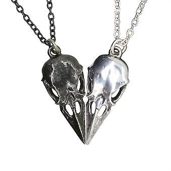 Alchemy Coeur Crane Couple's Friendship Pendants