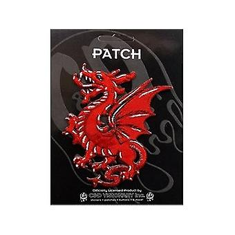 Patch - Animals - Red Dragon Iron On Gifts New Licensed p-3504
