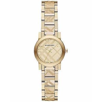 Burberry Bu9234 la ville des femmes Swiss Gold ion-plaqué bracelet montre
