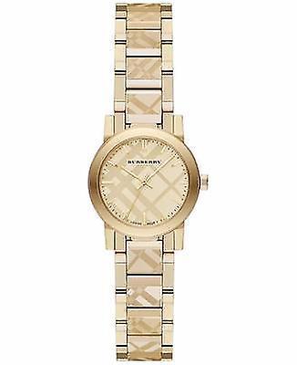 Burberry Bu9234 The City Women's Swiss Gold Ion-plated Bracelet Watch