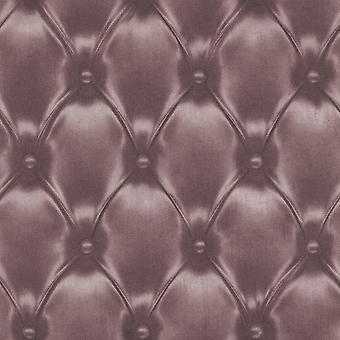 Rasch Barbara Becker Cuir Diamond Pattern Fond d'écran Metallic Faux Effect 479515