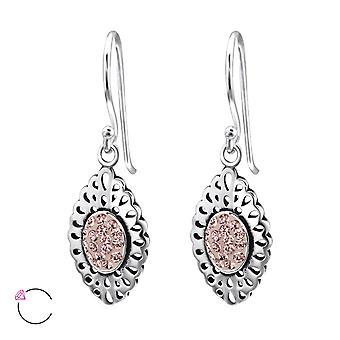 Cristal de la marquise de Swarovski® - boucle d'oreille en argent Sterling 925 - W25011X