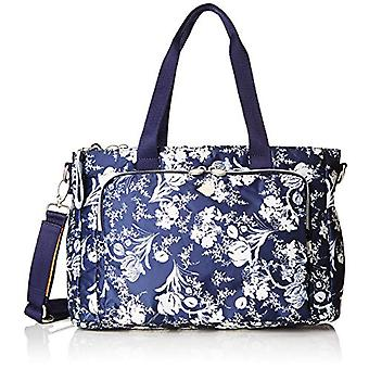 Oilily Groovy Diaperbag Mhz - Blue Women's Tote Bags (Blau (Dark Blue)) 14.5x25.5x38.0 cm (B x H T)