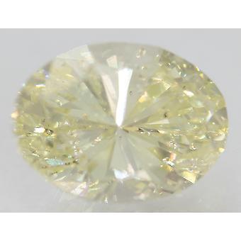 Certificato 2.45 Carat J Ovale Potenziato Naturale Sciolto Diamante 9.83x7.24mm