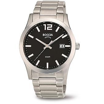 Boccia Titanium 3619-02 Miesten Watch