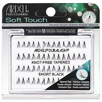 Ardell Soft Touch Individual Knot-Free Tapered Short Black