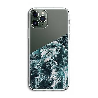 IPhone 11 Pro Max Funda transparente (suave) - Ocean Wave