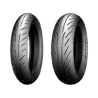 Motorcycle Tyres Michelin Power Pure SC ( 120/70-12 RF TL 58P Rear wheel, Front wheel )
