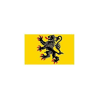 Naklejka Naklejka Samochód Moto Vinyl Flag Pas de Calais Francja