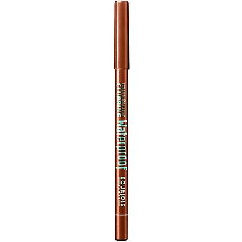 2 x Bourjois Paris Contour Clubbing Waterproof Eyeliner Pencil - 64 Exub' Orange
