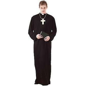 Prayerful Priest Adult Costume, XXL