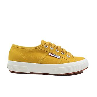 Superga Cotu Yellow Cotton Canvas Unisex Lace Up Casual Sneakers