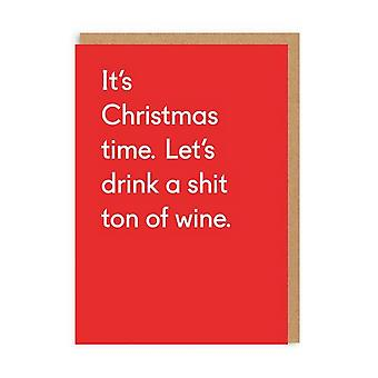 oh Deer Shit Ton Of Wine Christmas Card Oh Deer Shit Ton Of Wine Christmas Card Oh Deer Shit Ton Of Wine Christmas Card Oh De